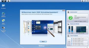 Synology mit neuer Version des DiskStation Managers