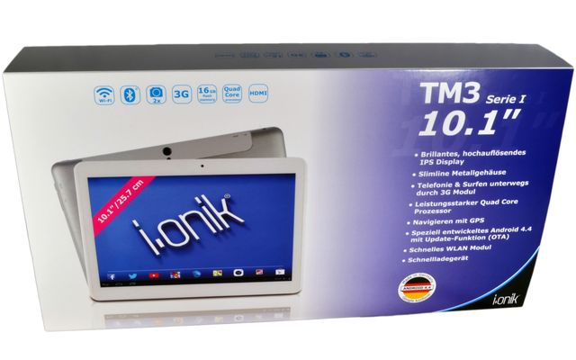 "i.onik TM3 Serie 1 10.1""-Tablet im Test"